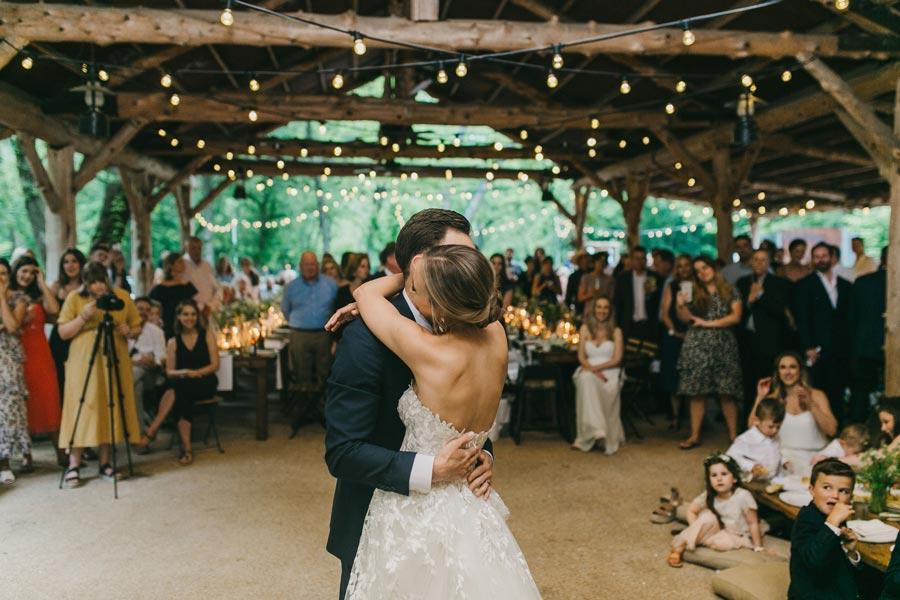 First Dance - Chuckwagon Pavilion Wedding Reception