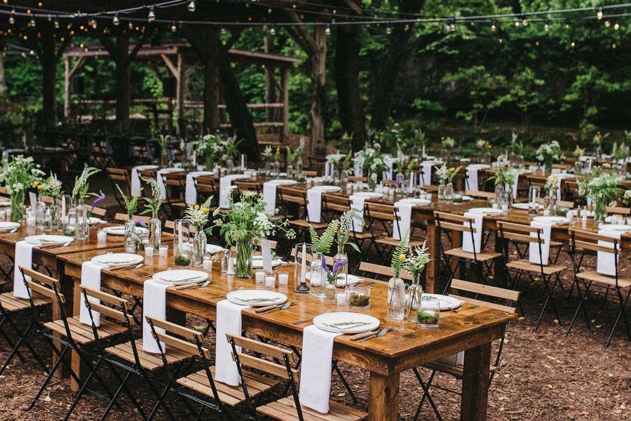 Outdoor Dogwood Canyon Weddings