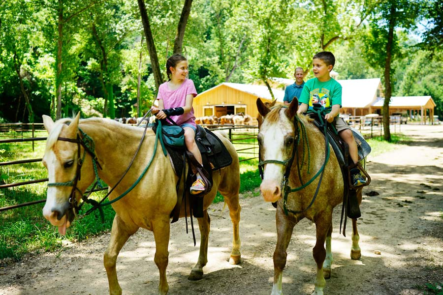 Kids Horseback Riding