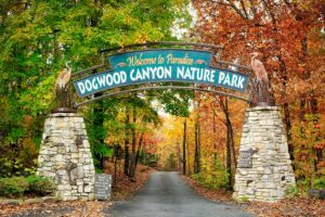 Entrance to Dogwood Canyon