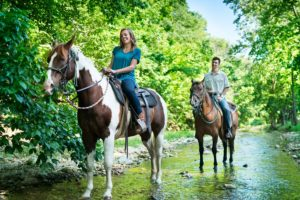 Horseback Riding at Dogwood Canyon