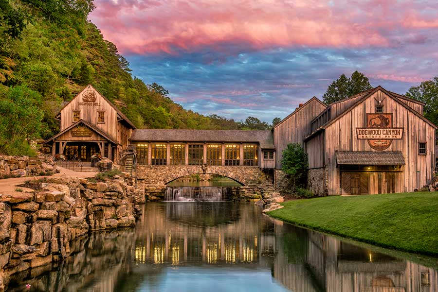Dogwood Canyon Mill and Grill Exterior